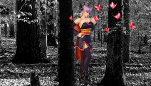 Ayane Crimson Buterfly 1 by GuerraHori