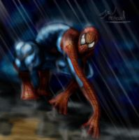 Spiderman Artsy by Wessel