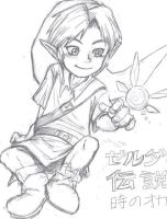 OoT-- young link by KH-LoZ-er