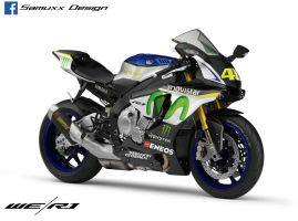 Yamaha R1 2015 VR46 Edition by SAMUXX