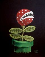 Plant study: Potted Piranha by obcat