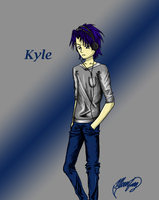 Kyle (colored) by MoonfangSkystrike
