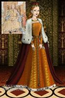Mary I coronation robes. by Lucrecia-89