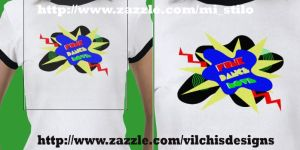 T Shirt: Rave by Vilchis