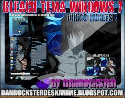 Ichigo Mugetsu Theme Windows 7 by Danrockster