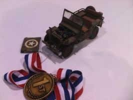 My jeep model, and Award by vash68