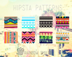 Hipsta Pattern By Rainbow Smiles by TutosRainbowSmiles