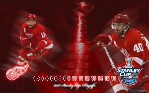 Red Wings Playoff Countdown WP by madeofglass13