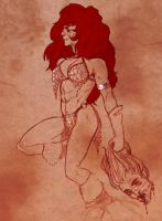 Red Sonja by TinyTale