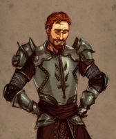 Knight-Captain's Smile by shutterbones
