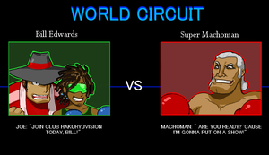 Bill Edwards Punch Out by HakuryuVision