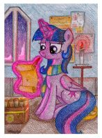 Princess's Evening Chores by NancyKsu