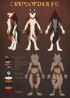 Crimsonwulfe Design by Shadow-Wolf