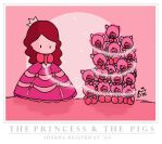 Princess and the Pig by cippow25