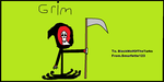 Grim from The Grim Adventures of Billy and Mandy. by Smurfette123