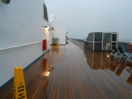 The ship in the rain by OceanRailroader
