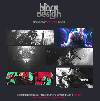 blackDSG Signature PSD pack by BlackDSG