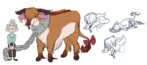 Mrs. Fig Raises Cows by BatLover800