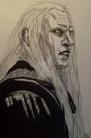 Prince Nuada from Hellboy by LVMysticmirrorsart