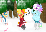 Snowfight by PastelGalaxia