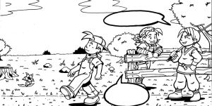 Harvest Moon Panel One by Marvelousboy