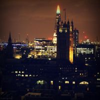 Shard and Westminster by lostknightkg