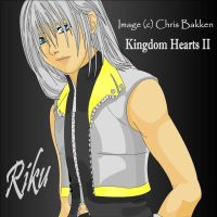 Riku: Kingdom Hearts II by darthpinhead47