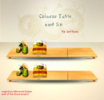 Chinese Table for XWD 5.6 by Vanillasky84