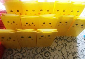 Army Of Pikachu Bags by WolfDagger369