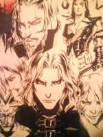 Castlevania curse of darkness by Z3R910-SEAL