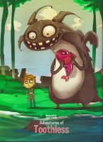 How to train your dragon - to eat fish by faruuk-sama