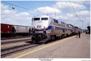 Amtrak P40DC 830 and 2 others by hunter1828