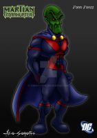 DCU - Martian Manhunter by TheoSar