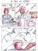 X-MEN VS KIRBY by Rachet777