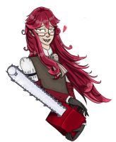 Grell Sutcliff by JueliyaForever