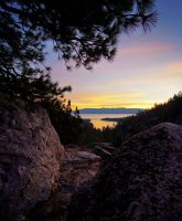 Above Emerald Bay by fistfulofneurons