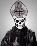 Papa Emeritus II by Anghellic67