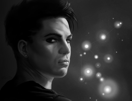 Adam Lambert - Aquarius by stitch-84