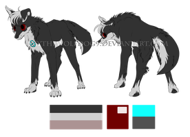 Commission || 2P Prussia Ref by Skythewolfdog9