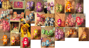 Holy Mother Of Care Bear Hoard! by MimiTheFox