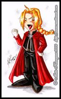 Chibi Ed Elric - FMA by mette-miko