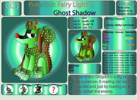 Pokemon Fairy Light and Ghost Shadow ''003'' by AndkeAnka