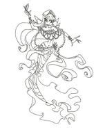 Winx Club Mermaid Stella coloring page by winxmagic237