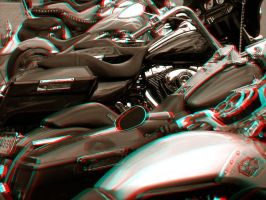 Do You Ride? - Anaglyph by Temphis