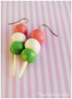 Dango Clay Earrings by NekoCakeArt