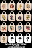 SM tote bags by AmberCherryBomb