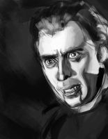 christopher lee sketch by Vimes-DA