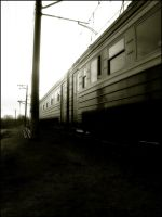 the last train in glow by uritis