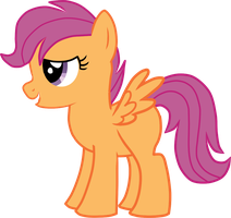 Scootaloo by doktorwhooves