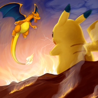 Dragon VS Mouse by Bestary